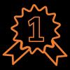 List style image medal